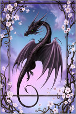 Wall sticker  Spring Dragon - Susann H.