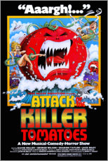 Wall sticker  Attack of the Killer Tomatoes - Entertainment Collection