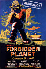Gallery print  Forbidden Planet - Entertainment Collection