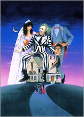 Wall sticker  Beetlejuice - Entertainment Collection