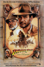 Foam board print  Indiana Jones and the Last Crusade - Entertainment Collection
