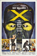 Wall sticker  X: The Man with the X-ray Eyes - Entertainment Collection