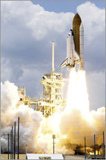 Gallery print  Space shuttle Atlantis launches - Stocktrek Images