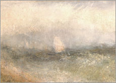 Gallery print  Off the Nore: Wind and Water - Joseph Mallord William Turner