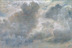 Gallery print  Study of cumulus clouds - John Constable