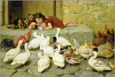 Wall sticker  The Last Spoonful - Briton Riviere