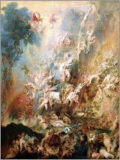 Canvas print  The Fall of the Damned - Peter Paul Rubens
