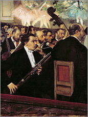 Wall sticker  The Opera Orchestra - Edgar Degas