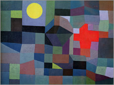 Gallery print  Fire - Paul Klee