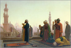 Gallery print  The prayers - Jean Leon Gerome