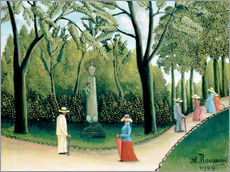 Wall sticker  The Monument to Chopin in the Luxembourg Gardens - Henri Rousseau