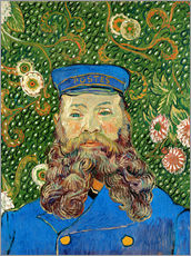 Wall sticker  Portrait of the Postman Joseph Roulin - Vincent van Gogh