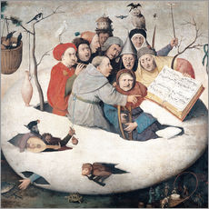 Wall sticker  The Concert in the Egg - Hieronymus Bosch