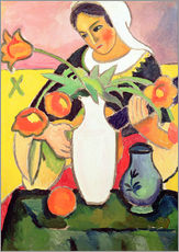 Wall sticker  The Lute Player - August Macke