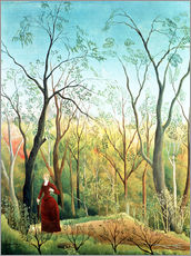 Wall sticker  The Walk in the Forest - Henri Rousseau