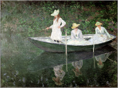 Gallery print  The Boat at Giverny - Claude Monet