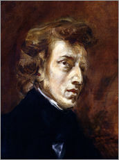 Gallery print  Frédéric Chopin - Eugene Delacroix
