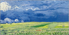 Gallery print  Wheatfields under Thunderclouds - Vincent van Gogh