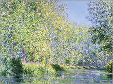 Gallery print  Bend in the Epte River near Giverny - Claude Monet