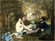 Wall sticker  Breakfast outdoors - Edouard Manet