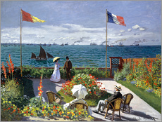 Wall sticker  Garden at Sainte-Adresse - Claude Monet