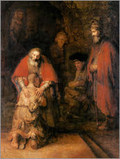 Gallery print  Return of the Prodigal Son - Rembrandt van Rijn