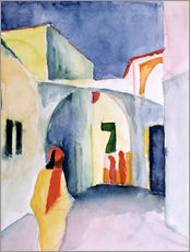 Wall sticker  Alley in Tunis - August Macke