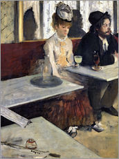 Gallery print  In a Cafe - Edgar Degas