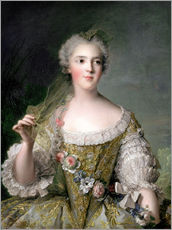 Gallery print  Sophie from France - Jean-Marc Nattier