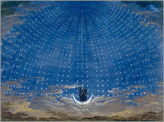Wall sticker  The Palace of the Queen of the Night - Karl Friedrich Schinkel
