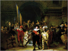 Wall sticker  The Nightwatch - Rembrandt van Rijn