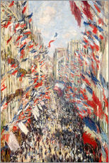 Claude Monet - Rue Montorgueil, celebrations June 30