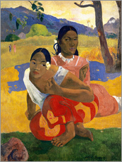 Gallery print  When Will You Marry? - Paul Gauguin