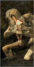 Francisco José de Goya - Saturn Devouring one of his Children