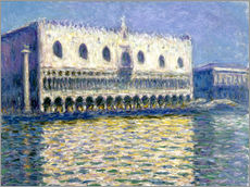 Wall sticker  The Ducal Palace - Claude Monet