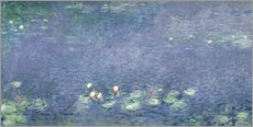 Wall sticker  Waterlilies: Morning - Claude Monet