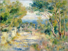 Canvas print  L'Estaque - Pierre-Auguste Renoir