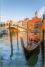 Wall sticker  Gondola at Rialto bridge - Matteo Colombo
