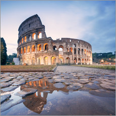 Gallery print  Colosseum reflected into water - Matteo Colombo