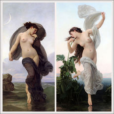 Gallery print  Twilight & Aurora - William Adolphe Bouguereau