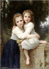 Gallery print  Two sisters - William Adolphe Bouguereau