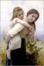 Gallery print  Not hard to bear - William Adolphe Bouguereau