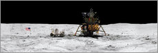 Gallery print  Apollo 16 lands in the lunar highlands - Stocktrek Images