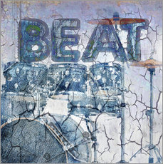 Gallery print  beat drum - Städtecollagen