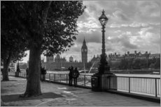 Wall sticker London black and white