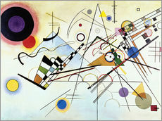 Wall sticker  Composition no. 8 - Wassily Kandinsky