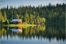 Gallery print  Summer in Lapland - Rainer Mirau