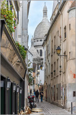 Gallery print  Streets of Montmartre Paris - FineArt Panorama