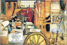Wall sticker  In the workshop - Carl Larsson