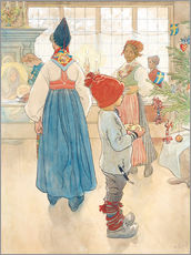 Wall sticker  Before Christmas - Carl Larsson